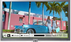 M&S connected TV app