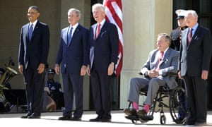 bush library opening