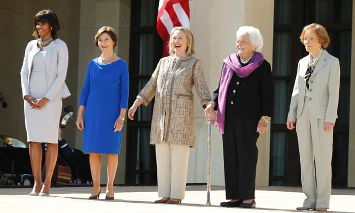 Liveblog: George W Bush presidential library opens in Dallas