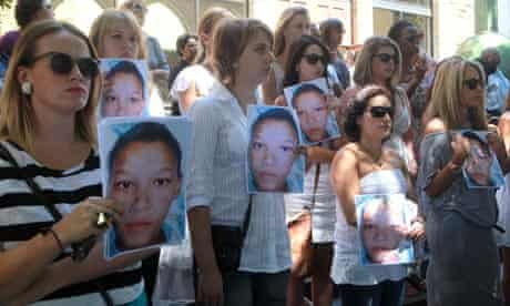 Silent protest in support of rape victims, Cape Town
