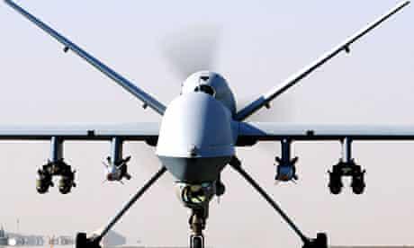 A Reaper UAV drone