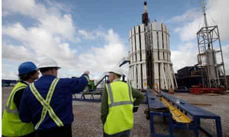 Cuadrilla fracking facility in Preston