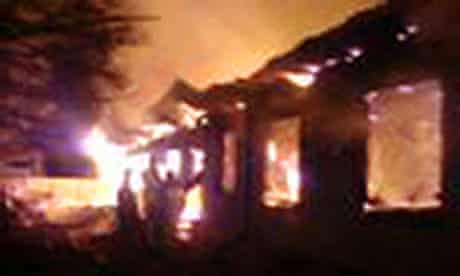 A psychiatric hospital fire north of Moscow in which 38 people died