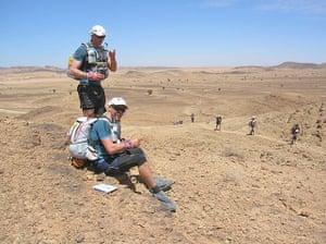 Marathon des Sables: Resting en route