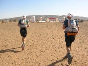 Marathon des Sables: Finishing line