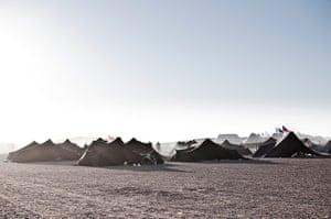 Marathon des Sables: Sleeping accommodation