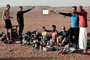 Marathon des Sables: Resting