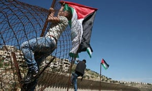 Israel's separation barrier in Beit Jala