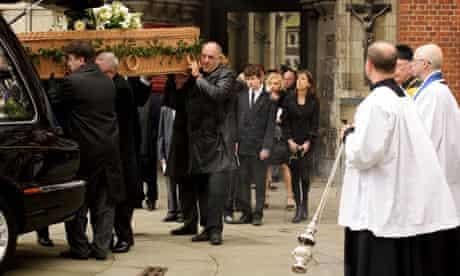 Funeral of Bruce Reynolds, St Bartholomew the Great, Smithfield, London, Britain - 20 Mar 2013