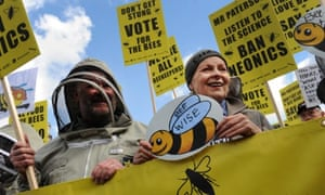Fashion designer Vivienne Westwood protests with beekeepers