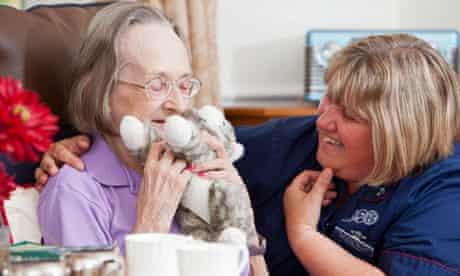 Care home resident Patricia Brannan