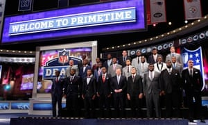 Roger Goodell and draft prospects