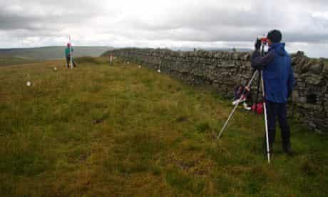 Measure any mountain: Jackson and Barnard on Thack Moor.