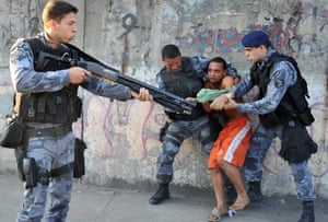 World Cup urban renewal and police brutality in Rio de Janeiro