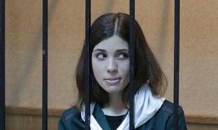 Pussy Riot member Nadezhda Tolokonnikova o