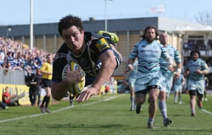 best of the week: Francois Louw scores a try