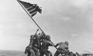 Iwo Jima American flag-raising