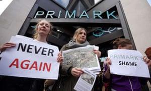 Primark demonstration