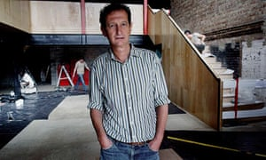 David Lan, artistic director at the Young Vic theatre