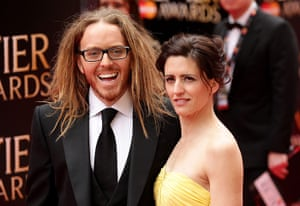 Laurence Olivier Awards: Tim Minchin and his wife Sarah