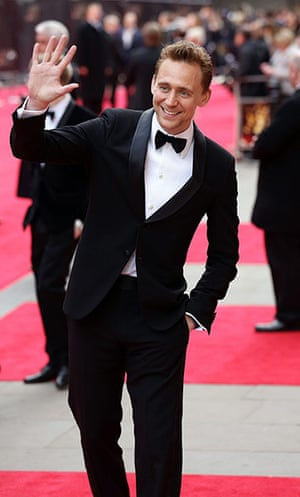 Laurence Olivier Awards: Tom Hiddleston at the Royal Opera House