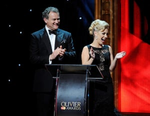 Laurence Olivier Awards: Olivier Awards, Show, Royal Opera House, London, Britain - 28 Apr 2013