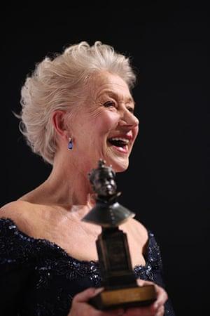 Laurence Olivier Awards: Helen Mirren wins best actress at the Olivier AwardsLondon