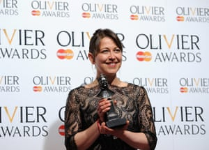 Laurence Olivier Awards: Nicola Walker with the Best Actress in a Supporting Role