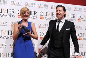 Laurence Olivier Awards: The Laurence Olivier Awards - Press Room