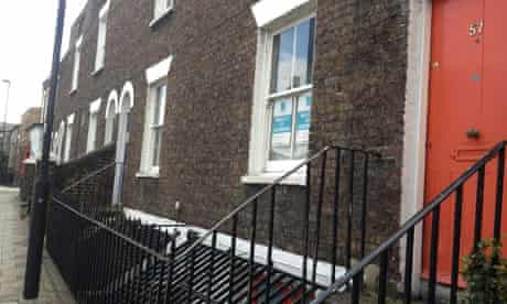 Short-life properties in Lambeth, London