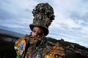 whitby goth festival: Liam Murray attends the festival which is in it's 19th year