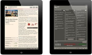 Financial Times HTML5 web app