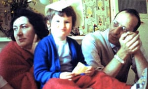 The last photograph ever taken of Shelley Gilbert with both parents – her mother died when she was f