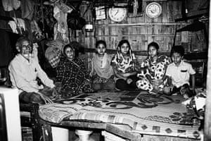 Bangladesh Factories: Family in bamboo house