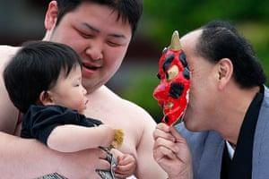 Nakizumo Festival: Crying Baby Festival in Tokyo