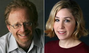 Sam Tanenhaus and Pamela Paul, editors of the New York Times Book Review
