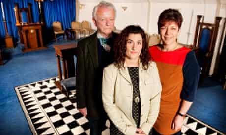 Nikki, Julian and Sandra are all Co-Freemasons.