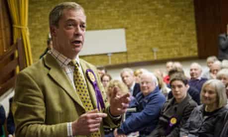 Nigel Farage in Great Missenden