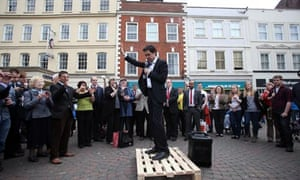 Ed Miliband in Worcester