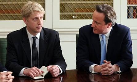 Jo Johnson David Cameron policy unit