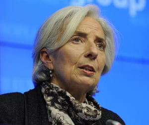 IMF chief Christine Lagarde says Cyprus must implement austerity measures to meet strict targets, under the terms of the bailout.