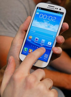 Mobile 40th: Samsung Galaxy SIII