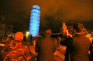World Autism Day: Tower of Pisa , Italy