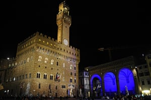 World Autism Day: The lodge 'dei Lanzi' in Florence, Italy