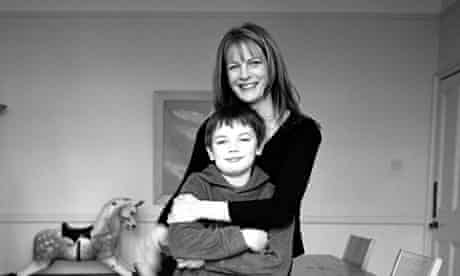 Polly Tommey and her son Billy