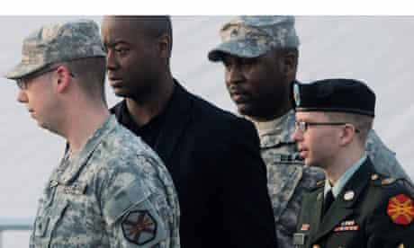 Arraignment of Bradley Manning