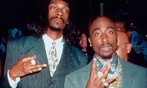 Snoop with the late Tupac Shakur