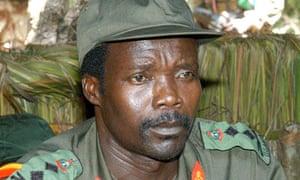 Joseph Kony in a 2006 file photo