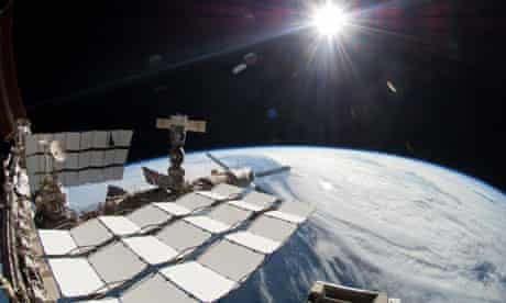 Space station dark matter