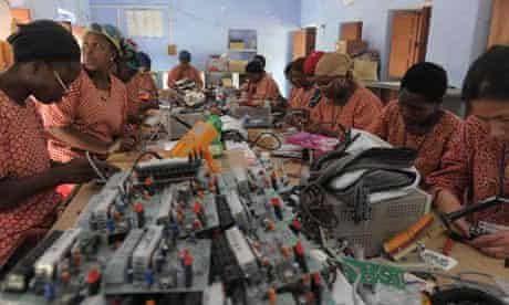 Women India factory